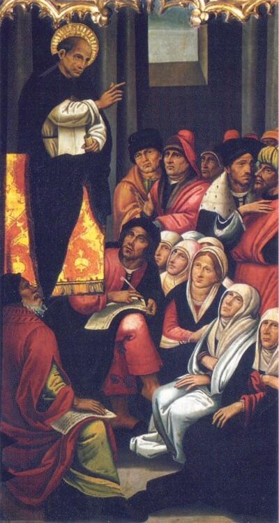 Jueria Sant Vicent predicant